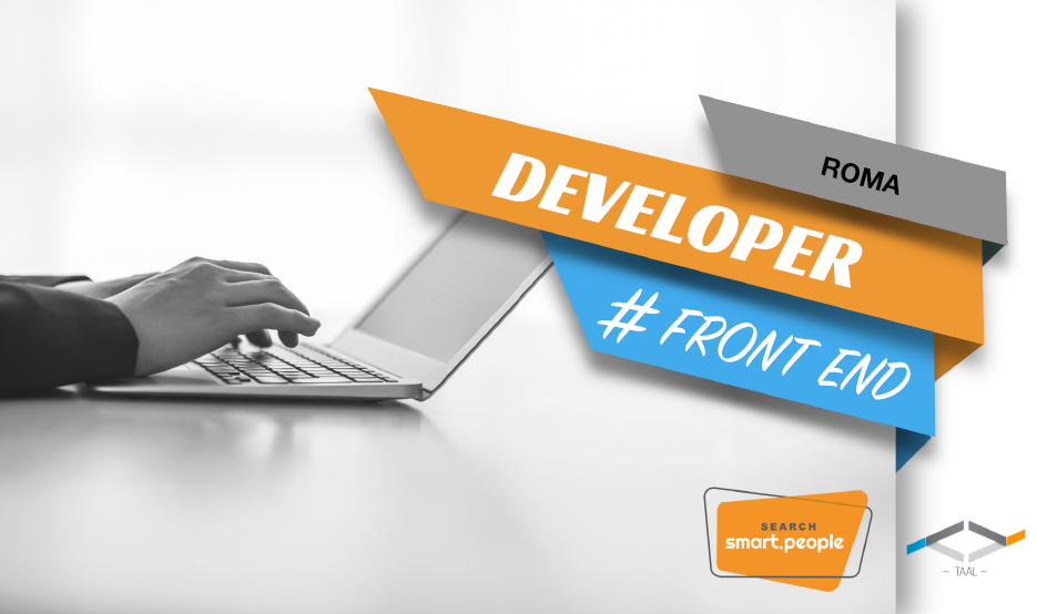 Front end developer  – Rif. RM 84